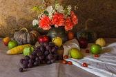 Natureza morta com frutas. — Foto Stock