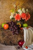 Martwa natura z owocami. — Zdjęcie stockowe