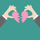 разбитое сердце разбитое сердце или разделён вектор