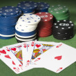 Royal Straight Flush, — Stock Photo #33547917