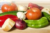野菜とパン — ストック写真