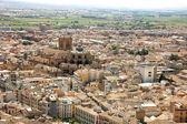 Aerial view of the city of Granada, Spain — Zdjęcie stockowe