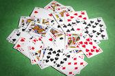 Casino cards — Stock Photo