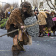 Stock Photo: Mdressed Neanderthal in carnival