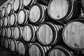 Barrels for Whisky or wine — Stock Photo