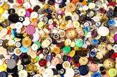 швейная кнопки — Стоковое фото