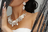 Wedding jewelry — Stock Photo