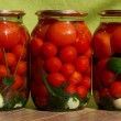 Canned tomatos — Stock Photo #31272311
