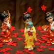 Stock Photo: Figurine Japanese Geisha