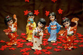 Figurine Japanese Geisha — Stockfoto