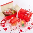 Stock Photo: Red handmade soap