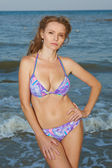 Woman in swimsuit — Stock Photo