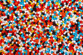 Colorful bead background — Photo