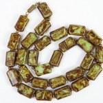Semi-precious stones against white background — Stock Photo