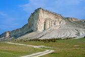 White cliff. Crimea. Ukraine — Stock Photo