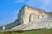 White cliff. Crimea. Ukraine  — Stock Photo