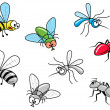Stock Vector: Insects