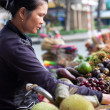 Fruit vendor — Stock Photo #36060909