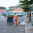 Sanitation worker working — Stock Photo #36066405