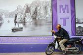 Motorbike taxi — Stock Photo