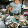 Chef at Pho restaurant — Stock Photo #36098959