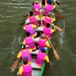 Racer at boat race    — Stock Photo
