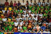 Exposición colectiva en el festival estudiantil de la competencia — Foto de Stock