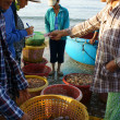 Seafood market on beach — Stock Photo #41653729