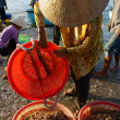 Seafood market on beach — Stock Photo #41653837