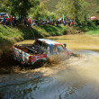 Racer offroad at terrain racing car competition — Stock Photo #42168821