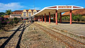 Dalat ancient  station in Vietnam — Stock Photo