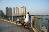 Gesundes Leben des Bürgers in vietnam — Stockfoto