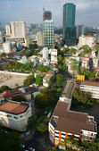 Ho Chi Minh city, vietnam,overview on day — Stock Photo