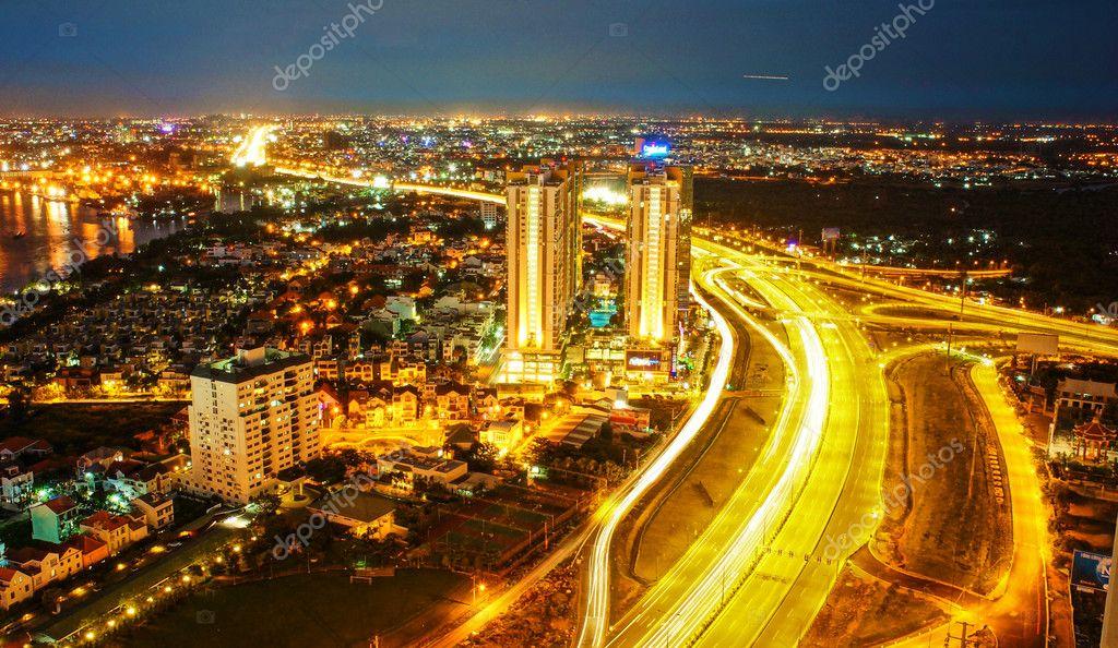 Incroyable nightscape de ho chi minh ville vietnam - Piscine ho chi minh ville ...