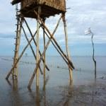 Watch tower on Viet Nam beach — Stock Photo #49573207