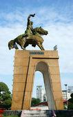 Tran Nguyen Han statue — Stock Photo