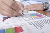 Business planning — Stockfoto