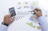Business Chart's — Stockfoto