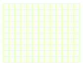Green square graph paper — Stock Photo
