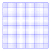 Square graph paper — Stock Photo