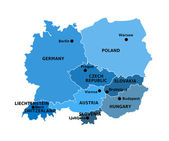 Central Europe  — Stock Photo