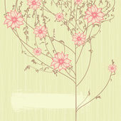 Simple spring design, vector — 图库矢量图片