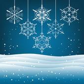 Christmas card — Cтоковый вектор