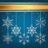 Christmas card — ストックベクタ
