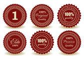 Premium quality medals — Vector de stock