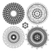 Circle decorative design — Stock Vector