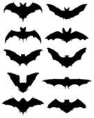 Bats — Stock Vector