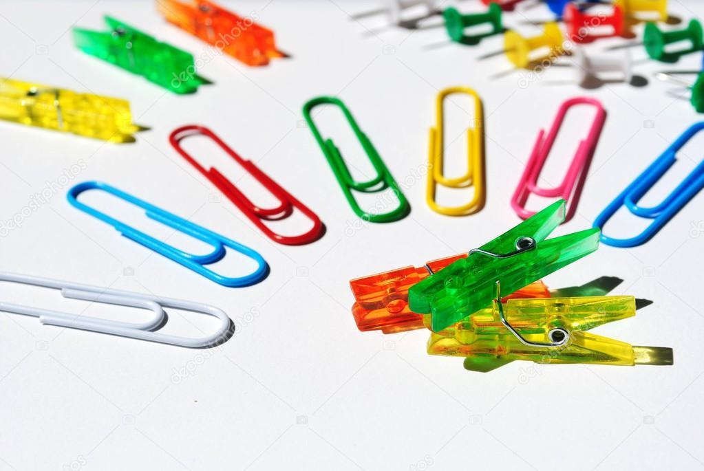 Papeleria para oficina y escuela foto de stock for Imagenes de articulos de oficina