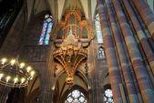 Music organ church — Stock Photo
