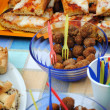 The stuffed olives of Ascoli Piceno — Stock Photo